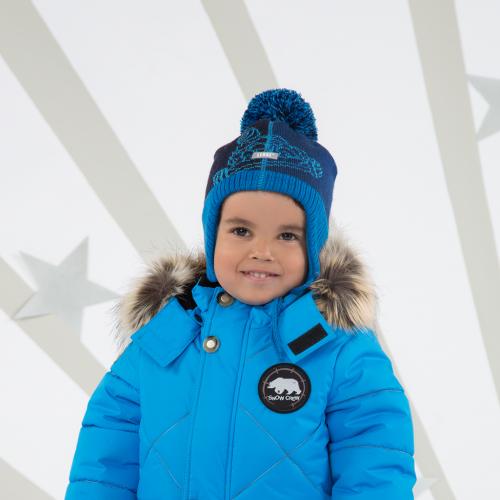 Детская зимняя шапка для мальчика GARRY (18375 229) e0c1e1b61a1b1