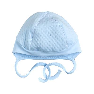 Детская шапка для имальчика, Капитон голубая (25289-15), Garden Baby
