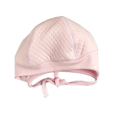 Детская шапка для девочки, Капитон розовая (25289-15), Garden Baby