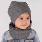 Детский демисезонный комплект (шапка + хомут)